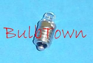 #224 MINIATURE BULB SPECIAL SCREW BASE - 2.15 Volt 0.22 Amp TL-2, Special Screw Base, C-2R Filament Design, 0.02 MSCP. 0.88